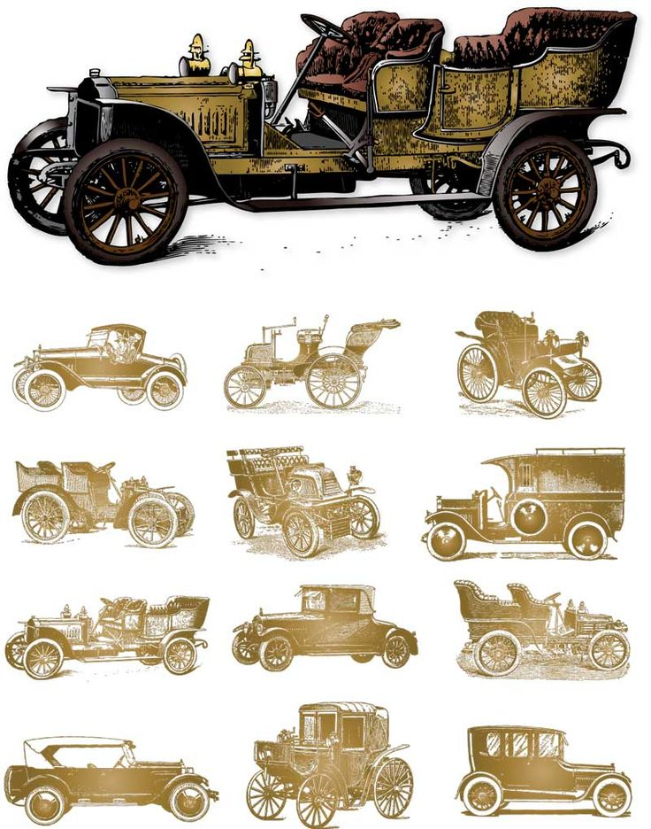 Classic Car clipart old fashioned car Pinterest plane cars clipart best