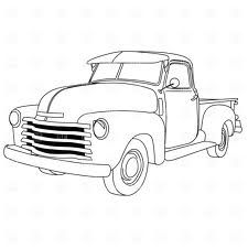 Classic Car clipart old school Truck old Trucks drawing old