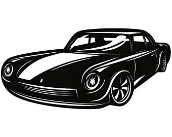 Classic Car clipart old style Transportation PNG Antique Style Space