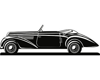 Classic Car clipart old style Transportation PNG Classic Style Space