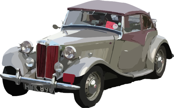 Classic Car clipart old style Style Clker clip image vector