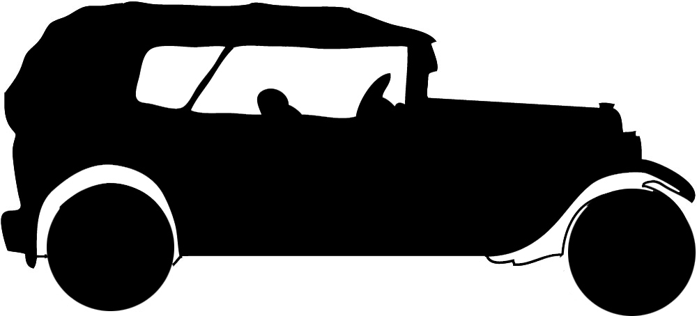 Classic Car clipart old thing Silhouette clipart car Clipart silhouette
