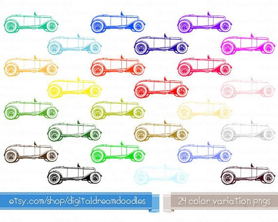 Classic Car clipart old thing Clipart Art mariage Pinterest ideas