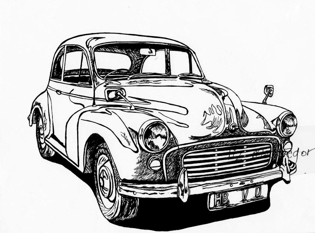 Classic Car clipart old thing Para Aprender Álbum imágenes