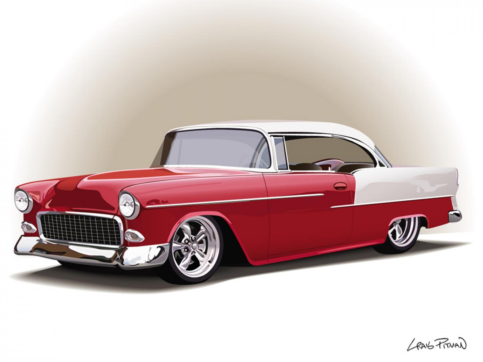 Classic Car clipart oldies 90+ Images Car net WallpaperSafari