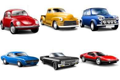 Classic Car clipart oldies Icons Vintage Cars Icons Classic