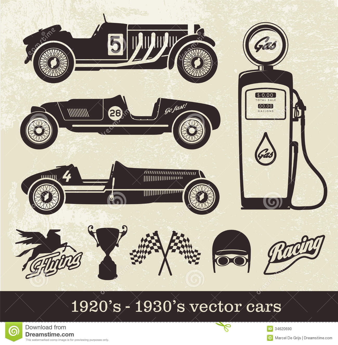 Classic Car clipart racing car Transportation cars silhouette Svg car