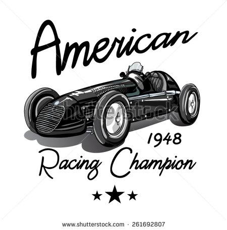 Classic Car clipart racing car Sports Car Vintage Clipart Clipart