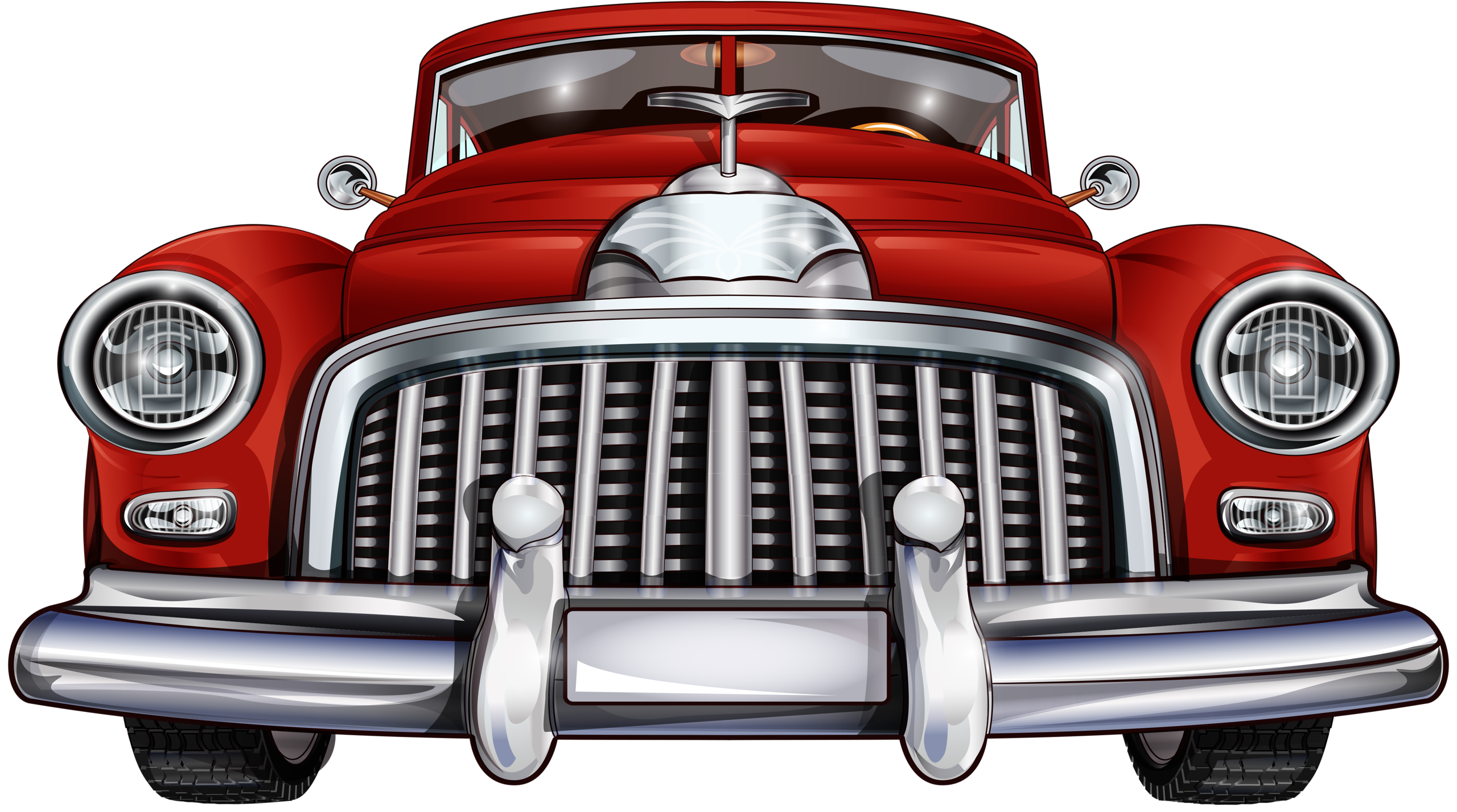 Classic Car clipart red classic Яндекс CarsVintage Фотки Cars Pinterest