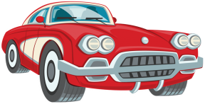 Classic Car clipart red classic Free free classic Car clipart