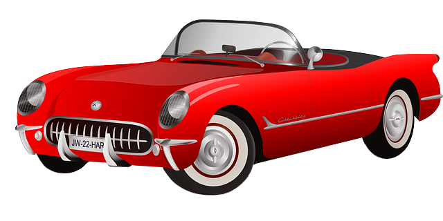 Classic Car clipart red classic Free Red Car Sports com