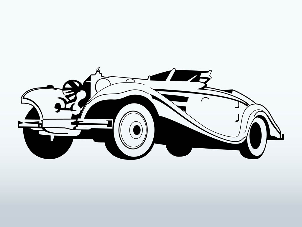 Classics clipart antique car Vector Vector Car Free Car