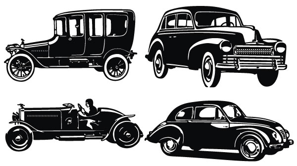 Classic clipart old fashioned car Zone Car Cliparts vintage Vintage