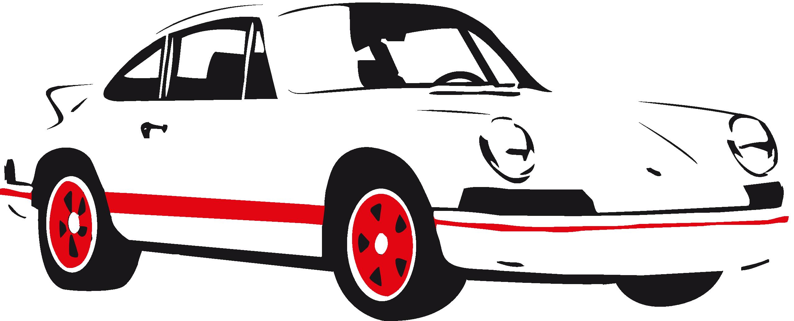 Classic Car clipart sportscar Library Art Front Clip Vector