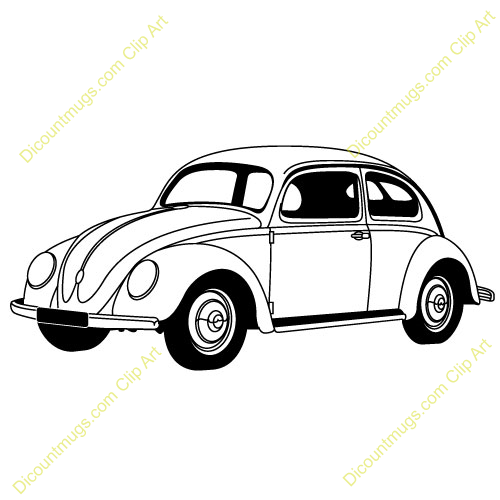 Classic Car clipart volkswagen bug Free Beetle Panda Clipart 20clipart