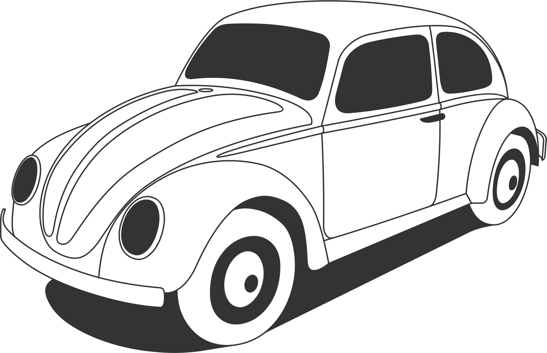 Classic Car clipart volkswagen bug Beetle Beetle VW Clipart Classic