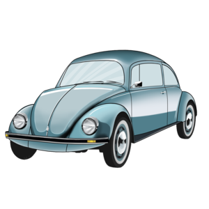Classic Car clipart volkswagen bug 3 images PNG Beetle Car