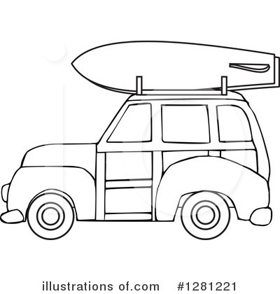 Classic Car clipart woody Free Illustration #1281221 #1281221 Royalty