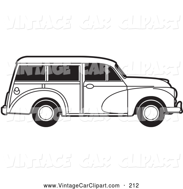 Classic Car clipart woody Of a White White of