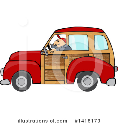 Classic Car clipart woody Free Illustration #1416179 #1416179 Royalty