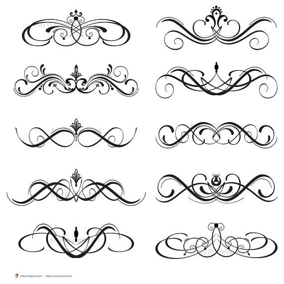 Decoration clipart decorative scrolling Classic%20clipart Art Images Free Clipart