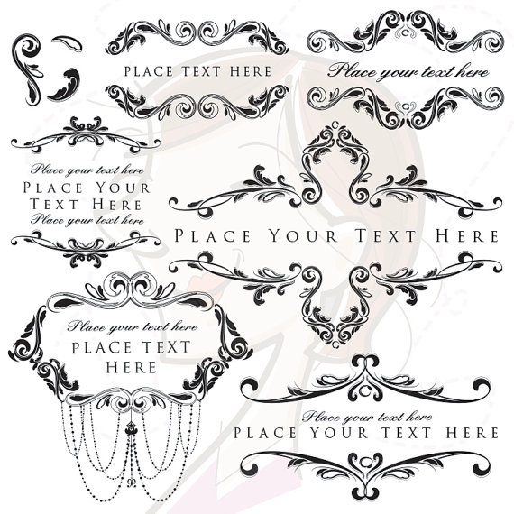 Classic clipart Engraved Vintage Clipart Chandelier DIY