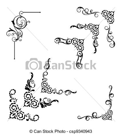 Classic clipart And isolated Stock 046 Classic