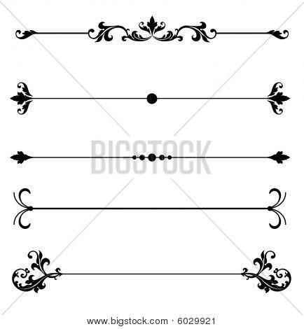 Classic clipart page accent Line Ornamental line Photo to
