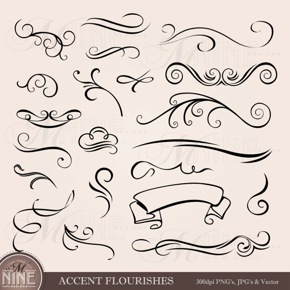 Classic clipart scrollwork #15