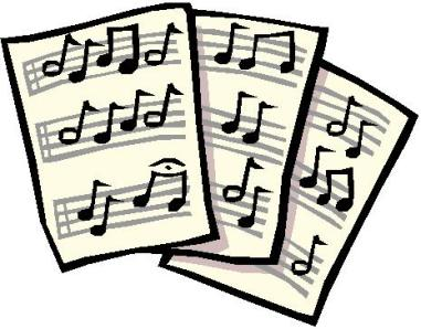 Sheet Music clipart music director Images illustration Collection Clip Clipart
