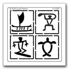 Classical clipart hawaiian petroglyph Screenshot Hawaiian kids Hawaiian 635