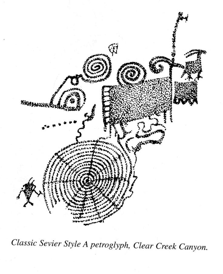 Classical clipart hawaiian petroglyph State Park Park petroglyph Fremont
