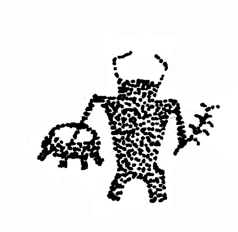 Classical clipart hawaiian petroglyph  Park petroglyph Park Sheep