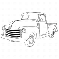 Classical clipart pickup truck American Free strawberry Delicious Clipart