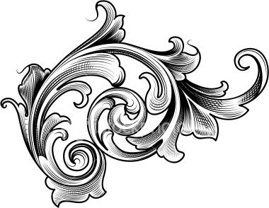 Classical clipart victorian scroll Video on photos ideas Victorian