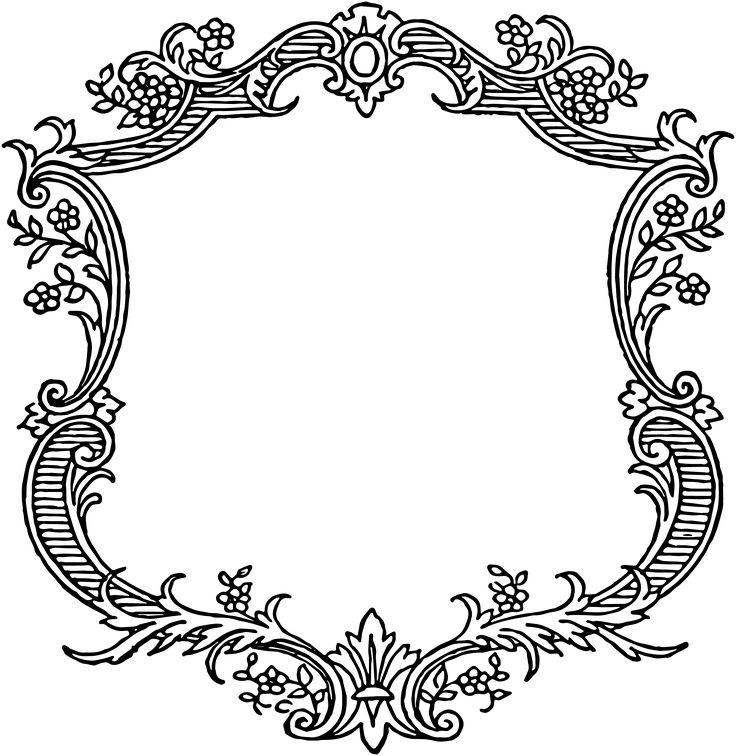 Classical clipart victorian scroll 116 Victorian Pinterest Pin Scrolls