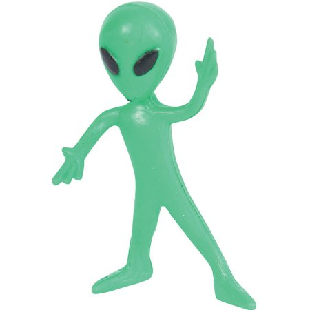 Classic clipart alien Favor 12 Green Toy Gift