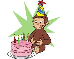Classics clipart curious george Clip clipart birthday Curious about