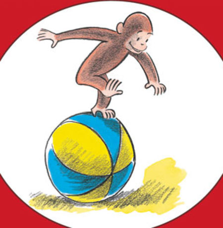 Classics clipart curious george Children's  line the you