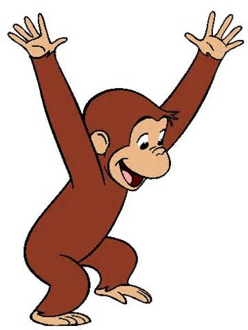 Classics clipart curious george Clip  on Clip George