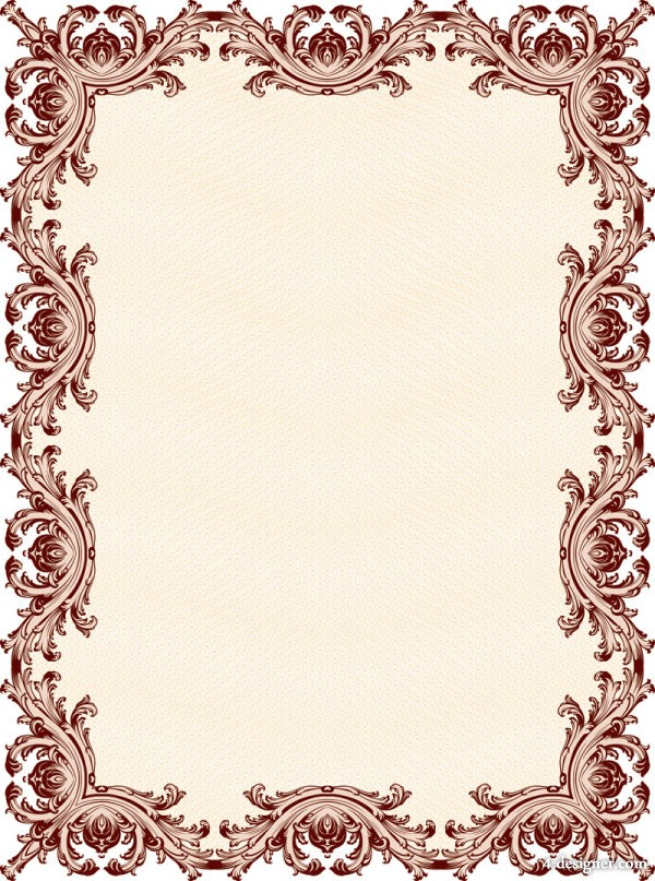 Classical clipart design pattern Download 01 For  Patterns
