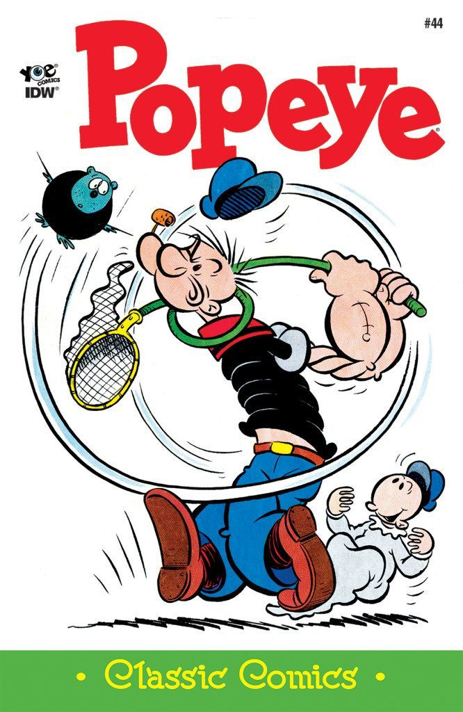 Classics clipart interested IDW Popeye Publishing #45 Classics