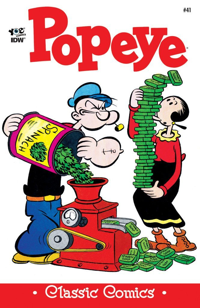 Classics clipart interested IDW Popeye Publishing #42 Classics