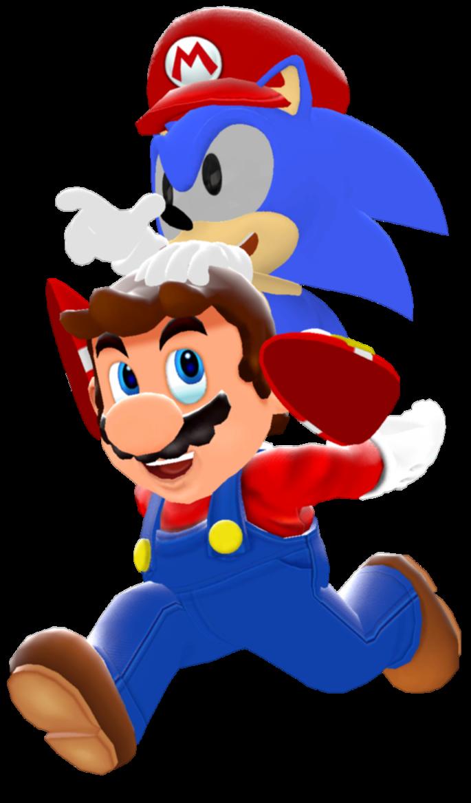 Classics clipart mario By Mario Modern Mario Sonic