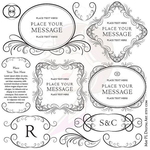 Classic clipart vintage tag #4