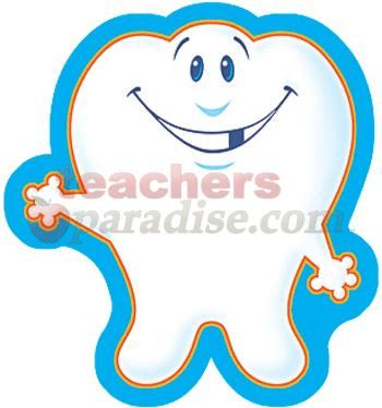 Classic clipart page accent Mini Page Tooth Decorations Classic