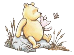 Classic clipart piglet Together Clipart  & Pooh