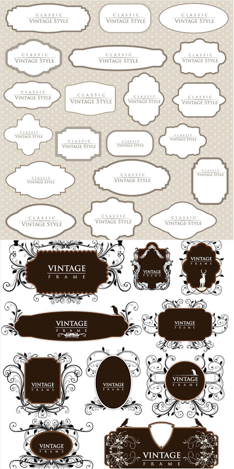 Classic clipart vintage tag #6