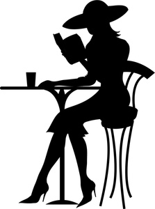 Classy clipart Reading Preview clipart women Clipart