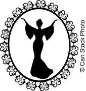 Classy clipart diva  Diva elegant Clip Vector